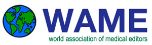 The WORLD ASSOCIATION OF MEDICAL EDITORS